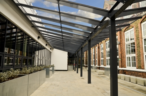Secondary School Canopies