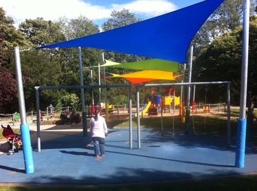 Shade Sails for Parks
