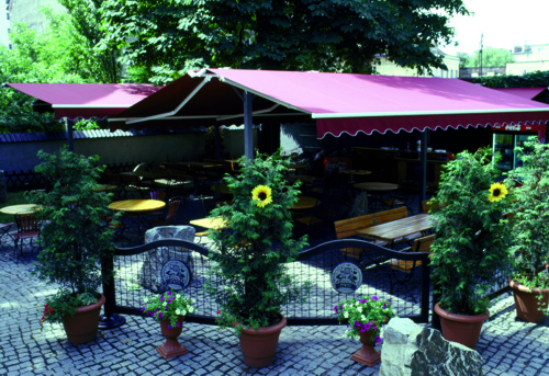 Restaurant Awning - Commercial Awning