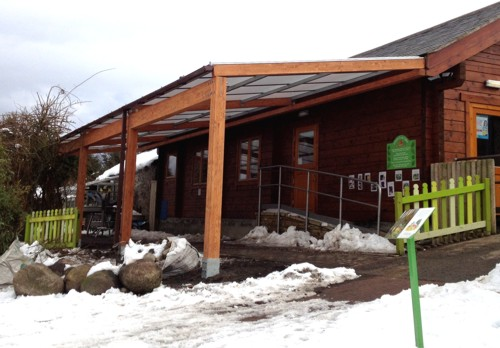 Tarnhow Timber Canopy Installed at Bowes Pre-School in County Durham
