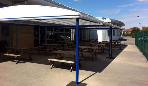 Outdoor Dining Canopy