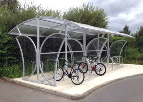 The Free Standing Witton Cycle Shelter