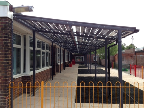 Solar Canopy - Capel Manor Primary School, Enfield, Middlesex