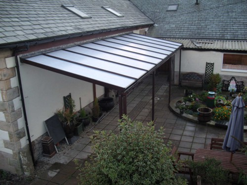 The Old School Gallery & Tea Room - Coniston Wall Mounted Canopy