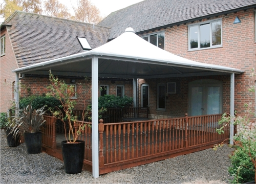 Webber Stephen Products - Demonstration Retail Canopy