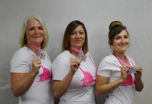 Moonwalk 2015 - Tracy, Dawn and Ella small