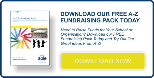 Download our free A-Z Fundraising Pack for Schools