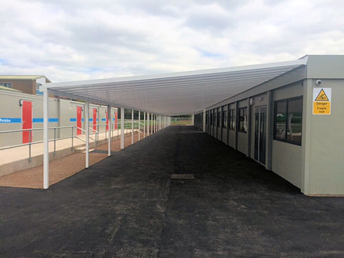 Canopies for Social Distancing