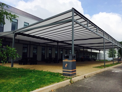 Outside Dining Canopies - Extend Your School Dining Space for Social Distancing