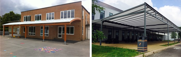 Canopies for Schools - Able Canopies Ltd.