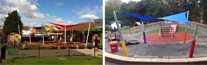 Shade Sails for Schools - Able Canopies Ltd.