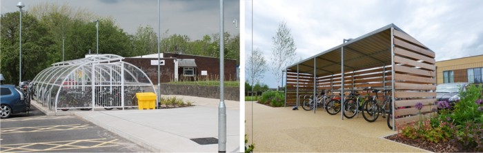 Cycle Shelters and Cycle Compounds for Schools - Able Canopies Ltd.