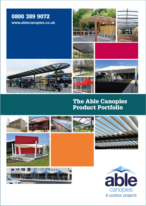 Able Canopies 2020 Product Brochure