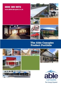 Able Canopies Free Brochure Download