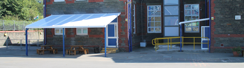 School Canopies | Free Standing Canopies for Schools
