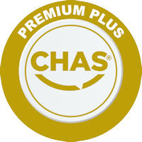 Able Canopies have achieved the Chas accreditation