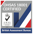 Able Canopies have achieved the OHSAS 18001 accreditation