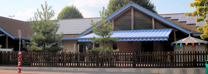 Awnings for Schools - Able Canopies Ltd.