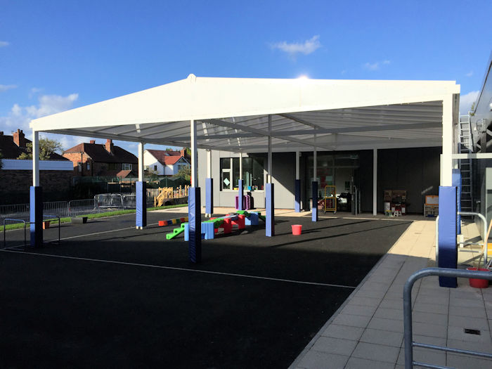 Mauldeth Road Primary School Free Standing Canopy