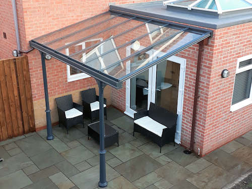 the simplicity 6 veranda and carport uk able canopies ltd