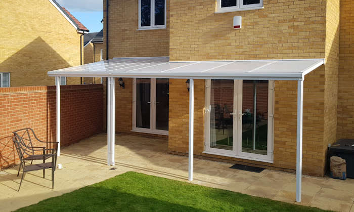 verandas and carports for domestic homes in the uk supplied and installed by the canopy