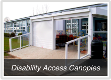 Disability Access Canopies for schools