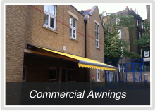 Commercial Awnings for schools