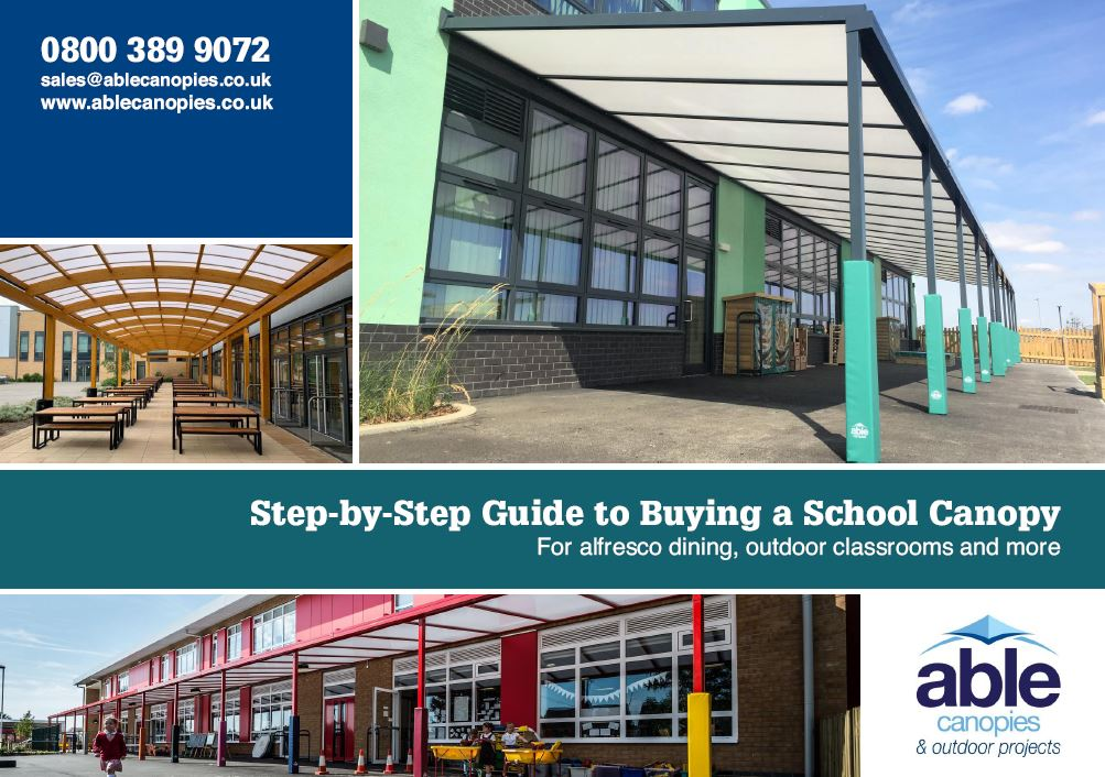 Step-by-Step Guide to Buying a School Canopy | Able Canopies Ltd.