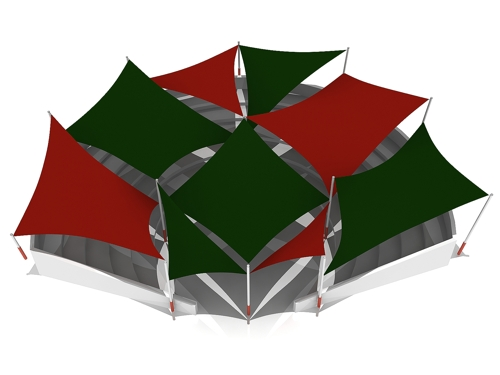 Carnfunnock Country Park Shade Sails Design Layout