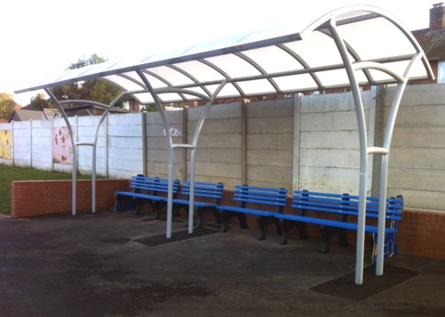 Brentside Primary School - After Waiting Shelter Installation