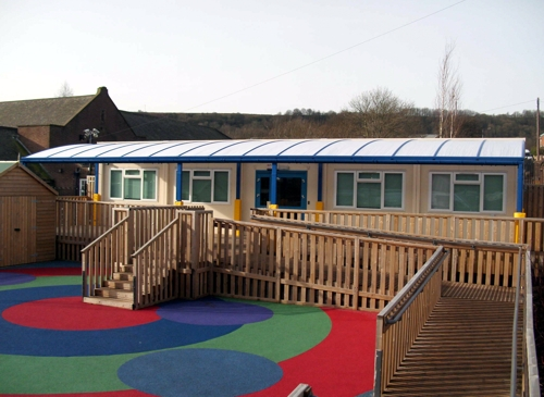 Free Standing Canopy installed at Springhead School