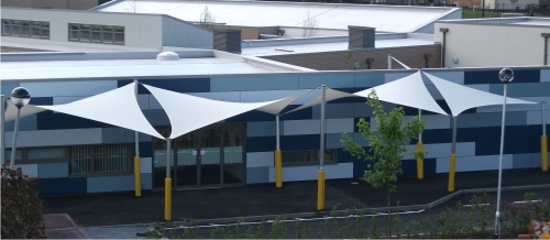 Shade Sails installed at Castle Wood School