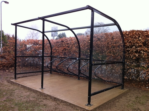 Bespoke Cycle Shelter at Newberries Primary School