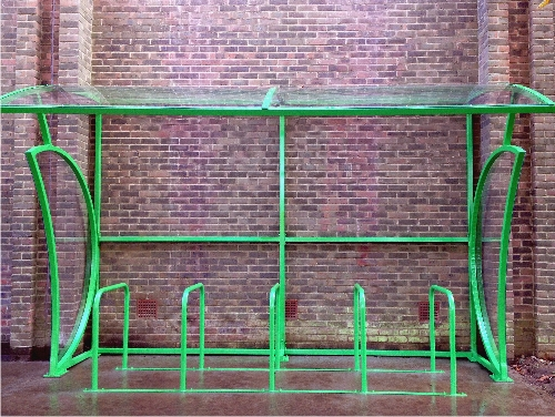 Case Study: Heights Leisure Centre - Cycle Shelter