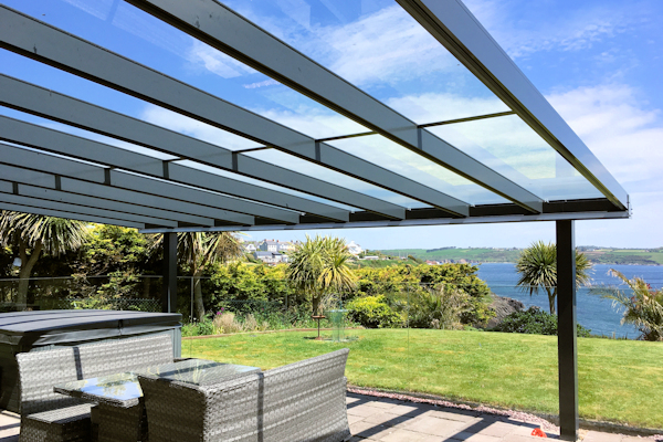 The Contemporary Alfresco Veranda - Able Canopies Ltd.