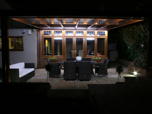 Integrated LED Lighting for Carports and Verandas