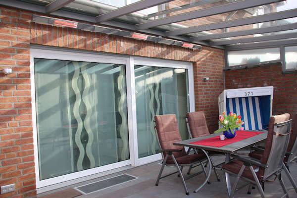Heating for Verandas and Canopies - Able Canopies Ltd.