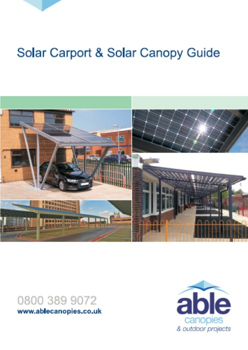 Solar Carport & Canopy Guide - Able Canopies Ltd.