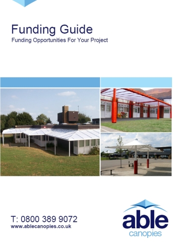 Able Canopies Free Funding Guide for Schools and Voluntary Organisations