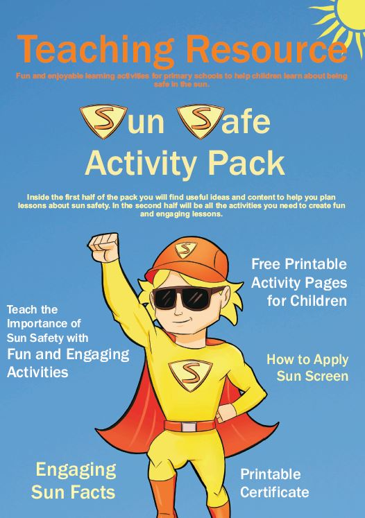 Sun Safe Activity Pack for Schools and Nurseries
