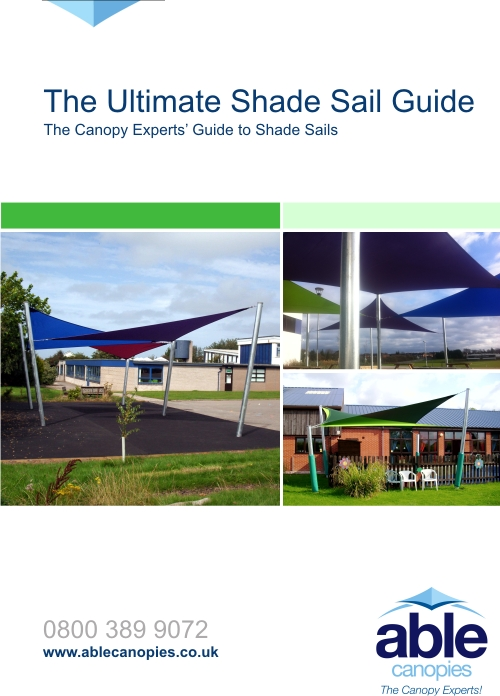 Download Able Canopies' Free Copy of The Ultimate Shade Sail Guide