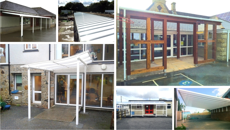 Cornwall School Canopy Installations