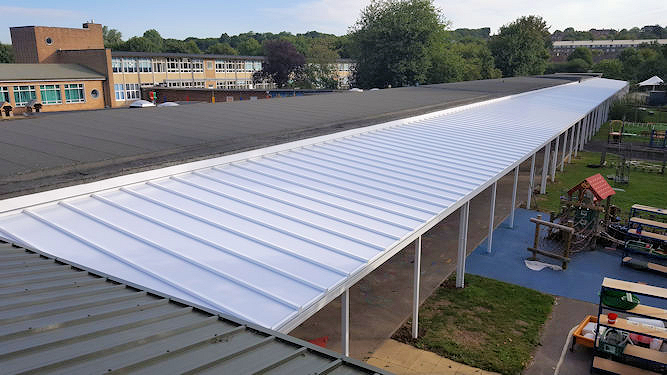 10% off the Coniston Wall Mounted Canopy - Able Canopies Ltd.
