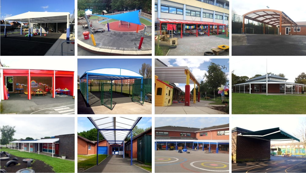 North School Canopy Installations