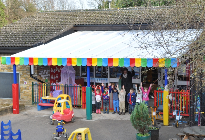 Devonshire Primary School Nursery - New Canopy for Outdoor Learning and Outdoor Play