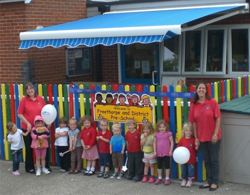 Freethorpe & District Pre-School - Awning