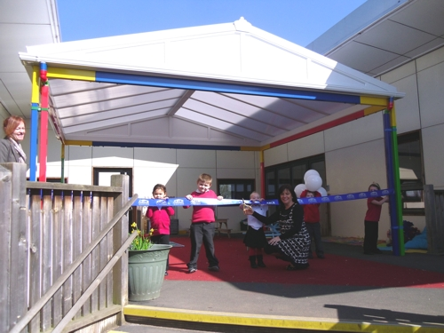 Whitmore Infant & Nursery School's New Canopy - Able Canopies Ltd.