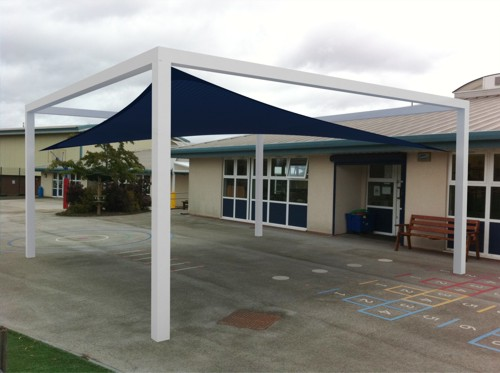 Able Canopies New Product Launch - The Evershade Waterproof Shade Sail