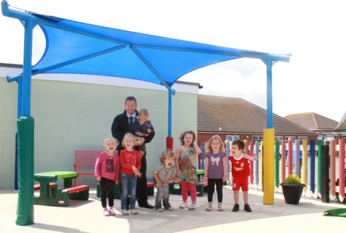 Little Clacton Pre-School - Able Canopies