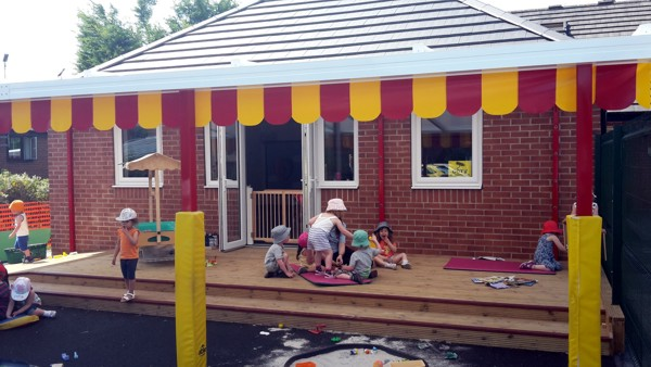 Mazehill Nursery, Sheffield - Wall Mounted Canopy Press Release